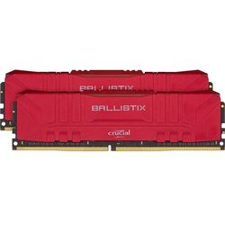 Crucial Pamięć DDR4 Ballistix 32/3000 (2*16GB) CL15 RED