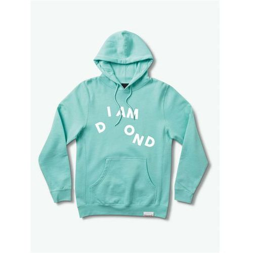 bluza DIAMOND - I Am Sp19 Hoodie Mint (MINT) rozmiar: S
