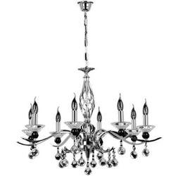 Żyrandol LAMPA wisząca NOSTRA 9013828 Spotlight kryształowa OPRAWA świecznikowa crystal chrom