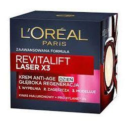 LOREAL LASER X3 REVITALIFT KREM ANTI AGE GŁĘBOKA REGENERACJA NA DZIEŃ