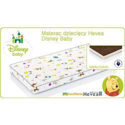 MATERAC LATEKSOWO KOKOSOWY HEVEA DISNEY BABY 120x60