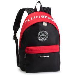 a59e3c4d102d7 Plecak PLEIN SPORT - Backpack Metal Sport S19A UBA0003 STE003N Black/Red  0213