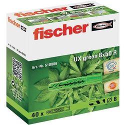 Kołki rozporowe Fischer 518885, 6 mm x 35 mm, nylon, 40 szt.