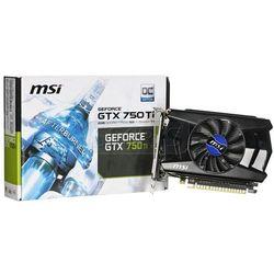 Karta graficzna MSI GeForce GTX750Ti 1024MB DDR5/128b D/H PCI-E OC - N750Ti-1GD5/OC