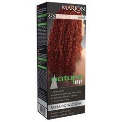Marion Farba do włosów Natura Styl nr 675 miedź