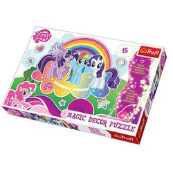 TREFL 15 EL. Magic Decor Kucyki Pony