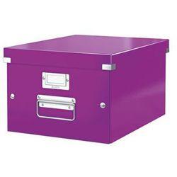 Pudło uniwersalne Leitz Click&Store Wow 6044 - fioletowe