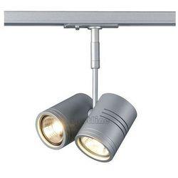 LAMPA sufitowa BIMA 2 143432 Spotline ścienna OPRAWA spot do systemu szynowego 1-fazowego srebrnoszaro