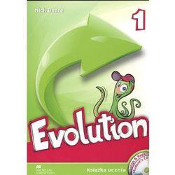 Evolution 1 - Książka Ucznia (+CD+Sprawdzian 6 klasisty) (opr. broszurowa)