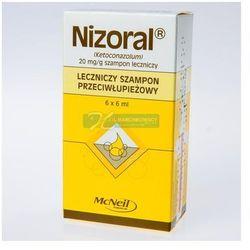 Nizoral szampon 6 saszetek po 6ml