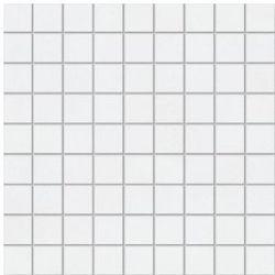 mozaika ścienna MSK-Pastele biała połysk 30,1 x 30,1