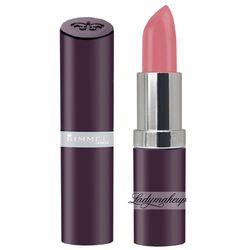 RIMMEL - Lasting Finish Lipstick - Szminka intensywny kolor - 206 - NUDE PINK