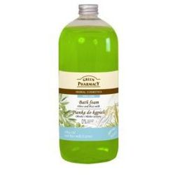 Green Pharmacy Płyn do kąpieli Oliwki & Mleko ryżowe