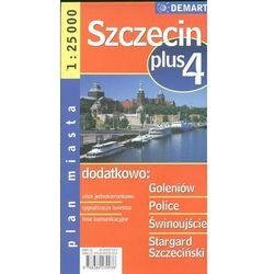 Szczecin plus 4 - plan miasta (opr. broszurowa)