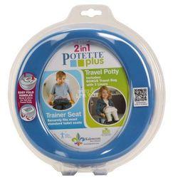 Potette Plus 2w1 nocnik turystyczny i nakładka na WC niebieski