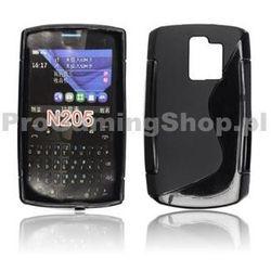 Etui silikonowe S-TYPE do Nokia Asha 208, Pink
