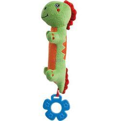 Pluszowa zabawka dinozaur z gryzakiem Canpol (zielony)