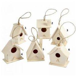 Drewniany domek dla ptaków - wzór III