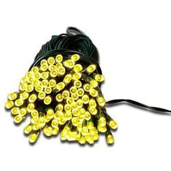 Łańcuch świetlny ogrodowy solarny Garth - 50 diod LED ciepło-biała