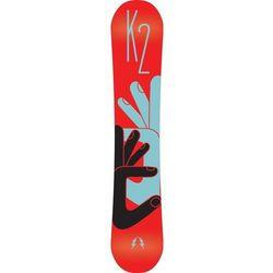 Snowboardy Fastplant Grom Czerwony/Wielobarwny 138