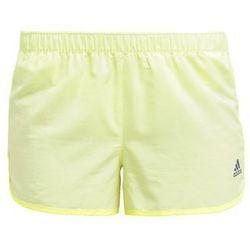 adidas Performance INFINITE SERIES Krótkie spodenki sportowe frozen yellow/pearl grey