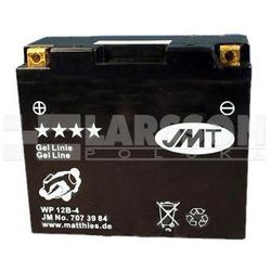 Akumulator żelowy JMT YT12B-BS (WP12B-4) 1100291 Yamaha XVS 650, Ducati GT 1000, Yamaha TDM 850