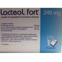 Lacteol Fort 340 mg kaps.twarde 10 kaps.