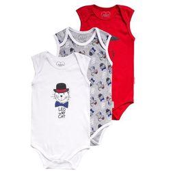 Gelati Kidswear 3 PACK Body grau melange