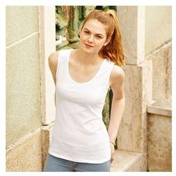 Koszulka damska tunika Fruit of the Loom Ladies Valueweight Vest 613760 36 - Czarne 7.25 bt (-4%)