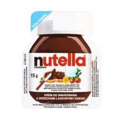 Nutella Krem do smarowania z orzechami laskowymi i kakao 15 g