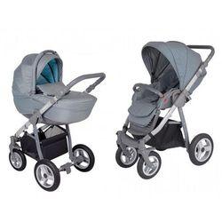 Amelis Pro, wielofunkcyjny wózek dziecięcy, turkusowe kropki, G-SR/air
