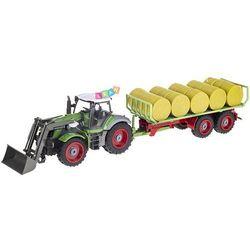 Traktor zdalnie sterowany + przyczepa