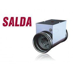 Nagrzewnica elektryczna kanałowa 100mm 0,6kW (230V) (EKA100-0,6)