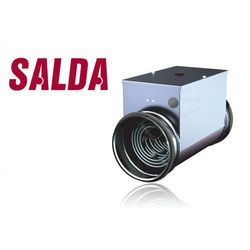Nagrzewnica elektryczna kanałowa 100mm 1,5kW (230V) (EKA100-1,5)