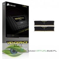 Corsair DDR4 Vengeance LPX 16GB/2400(2*8GB) CL14-16-16-31 Black 1,20V XMP 2.0