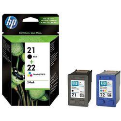 HP Zestaw tuszów 21+22 (C9351AE+C9352AE)