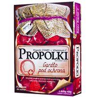 Propolki (dzika róża i sok malinowy) 16 pasty.