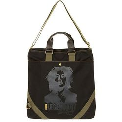 torba Puma CM Large Shoulder - Black/Bob Marley Graphic