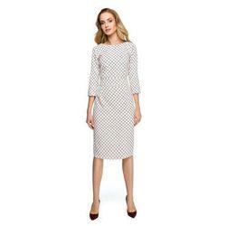30e5b07a4eff Sukienki Style S118 Sukienka ołówkowa w kratę - model 1 5% zniżki z kodem  ZNIZKA19