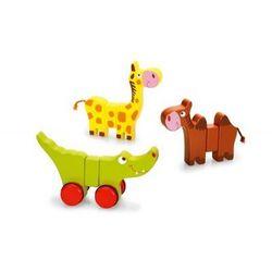Zabawka edukacyjna dla Dzieci Magnetyczne Zwierzątka - drewniana