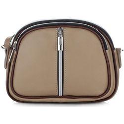 d2fe00d2f8fee Małe Torebki Skórzane Listonoszki firmy Genuine Leather Ciemno Beżowe  (kolory)