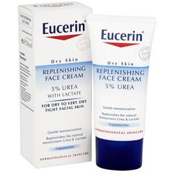 Eucerin® Dry Skin Replenishing Face Cream 5% Urea with Lactate (50ml)