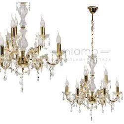 LAMPA wisząca MARIA TERESA 38-94653 Candellux klasyczna OPRAWA świecznikowa ŻYRANDOL złoty