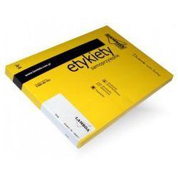 etykiety samoprzylepne LAMBDA - na CD 2 szt. 100 arkuszy A4 białe