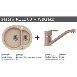 Zestaw ALVEUS ROLL 80 + WIKIeco (kolor BEŻOWY)