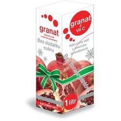 GRANAT z witaminą C sok bez konserwantów 1000ml