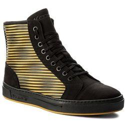 online store f0e66 d5e92 Sneakersy KAZAR - Leo 27416-26-A1 CzarnyŻółty