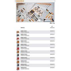 WÓZEK NARZĘDZIOWY 2400/C24SA7 Z ZESTAWEM NARZĘDZI, 132 ELEMENTY, MODEL 2400SA7-R/VG3, CZERWONY