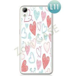 Obudowa Zolti Ultra Slim Case - HTC Desire 626 - Romantic- Wzór L11 - L11