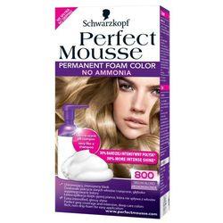 Perfect Mousse farba do włosów bez amoniaku 800 Medium Blond